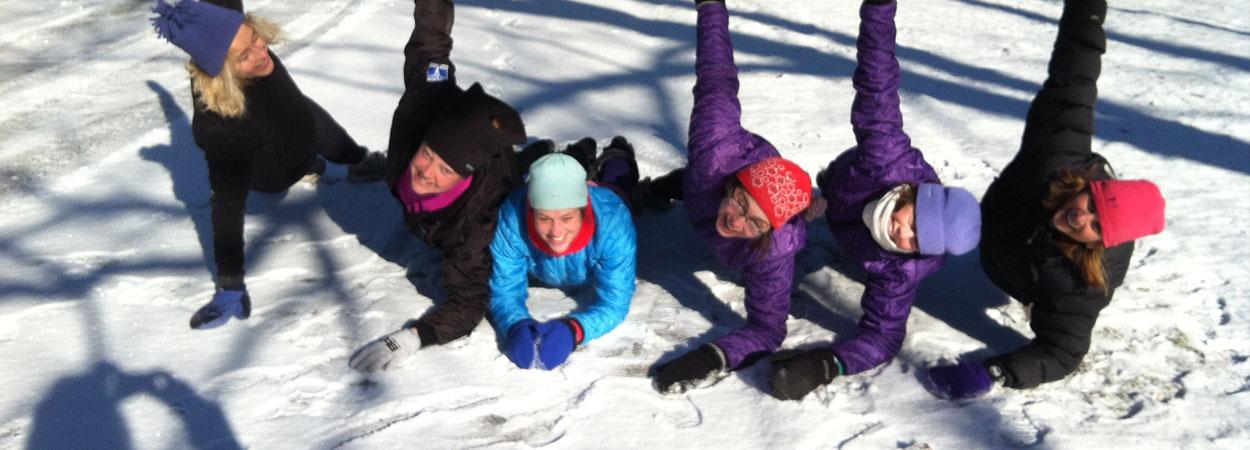 bbg plank in snow